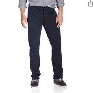 Hudson Byron Five Pocket Straight Jeans